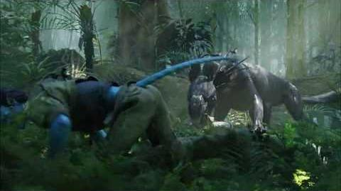 Scene From Avatar, Thanator Chase.
