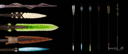 Na'vi Weapon Arrows