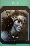 Na'vi Translator Card nr44