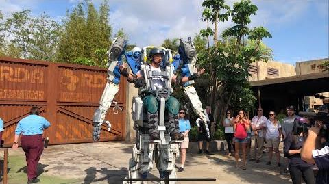 4K Pandora Utility Suit Interactive Character First Appearance Disney's Animal Kingdom