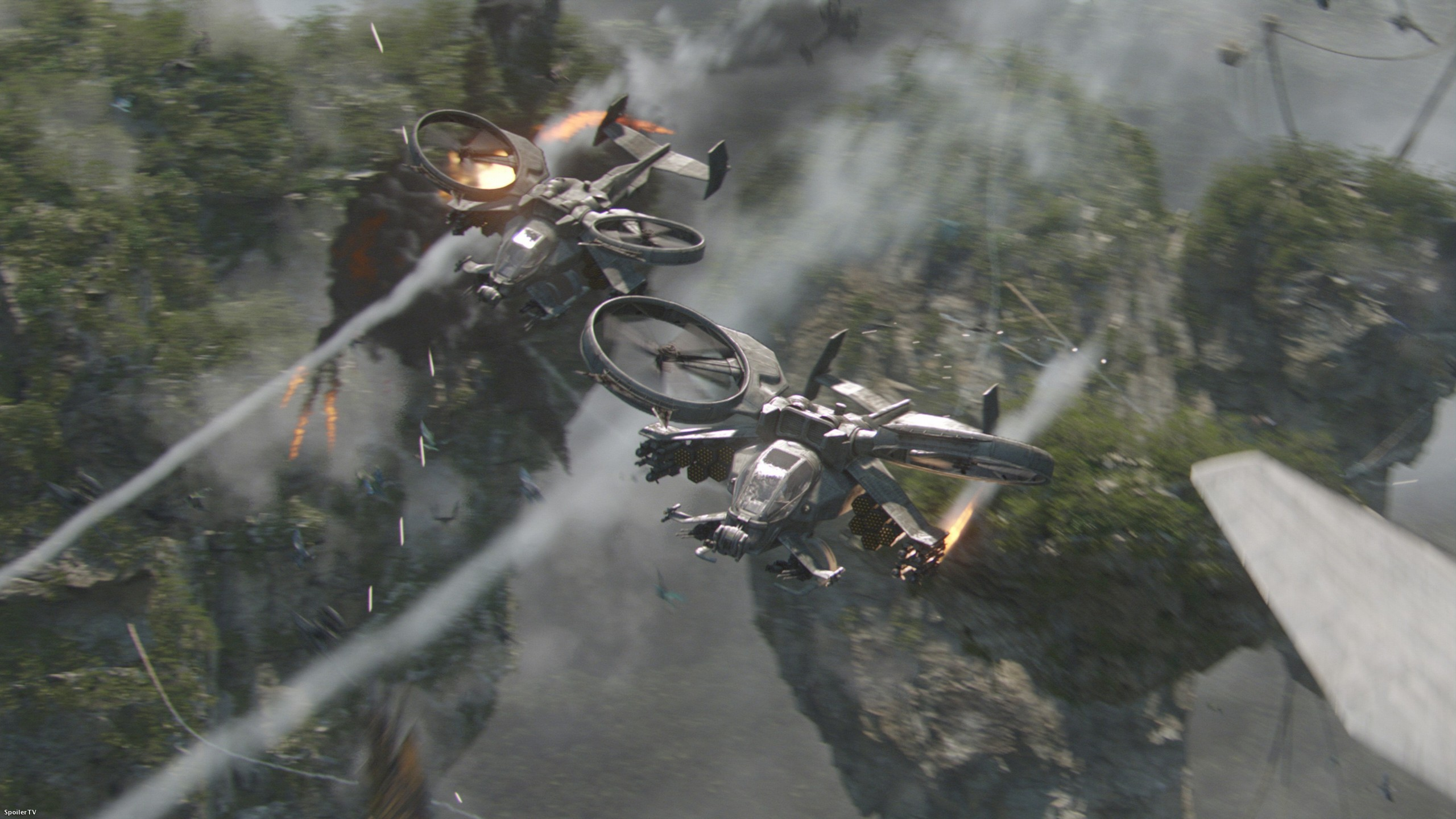 Resultado de la imagen para avatar 2 película + helicóptero