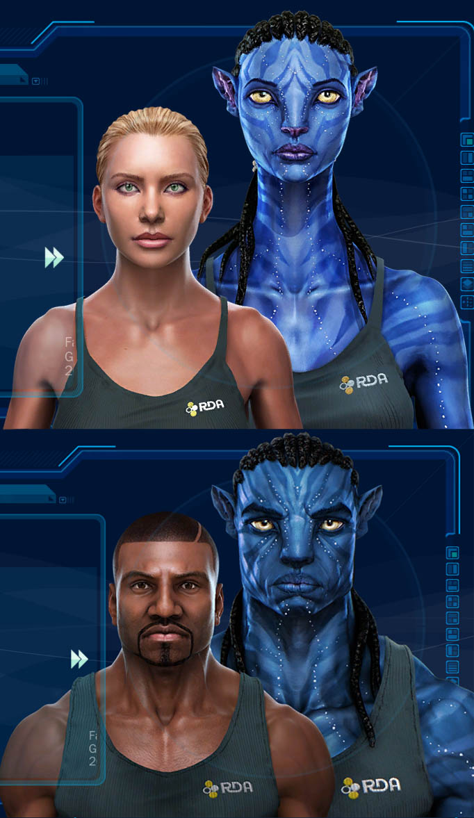 Avatar characters having sex games