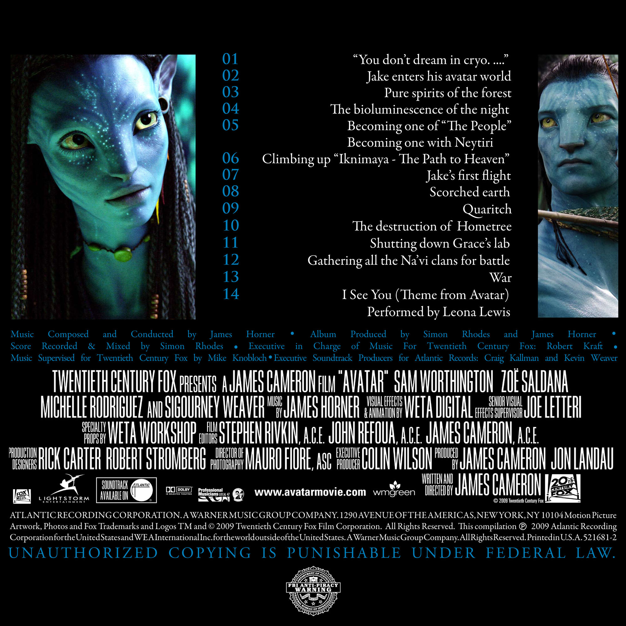 avatar: music from the motion picture | avatar wiki | fandom powered