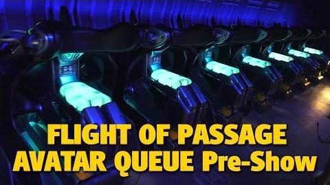 4K Flight of Passage Queue & Pre-Show - Pandora - The World of AVATAR