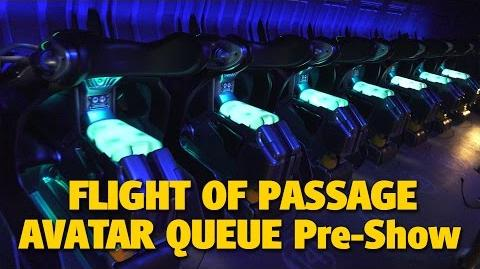 4K Flight of Passage Queue & Pre-Show - Pandora - The World of AVATAR