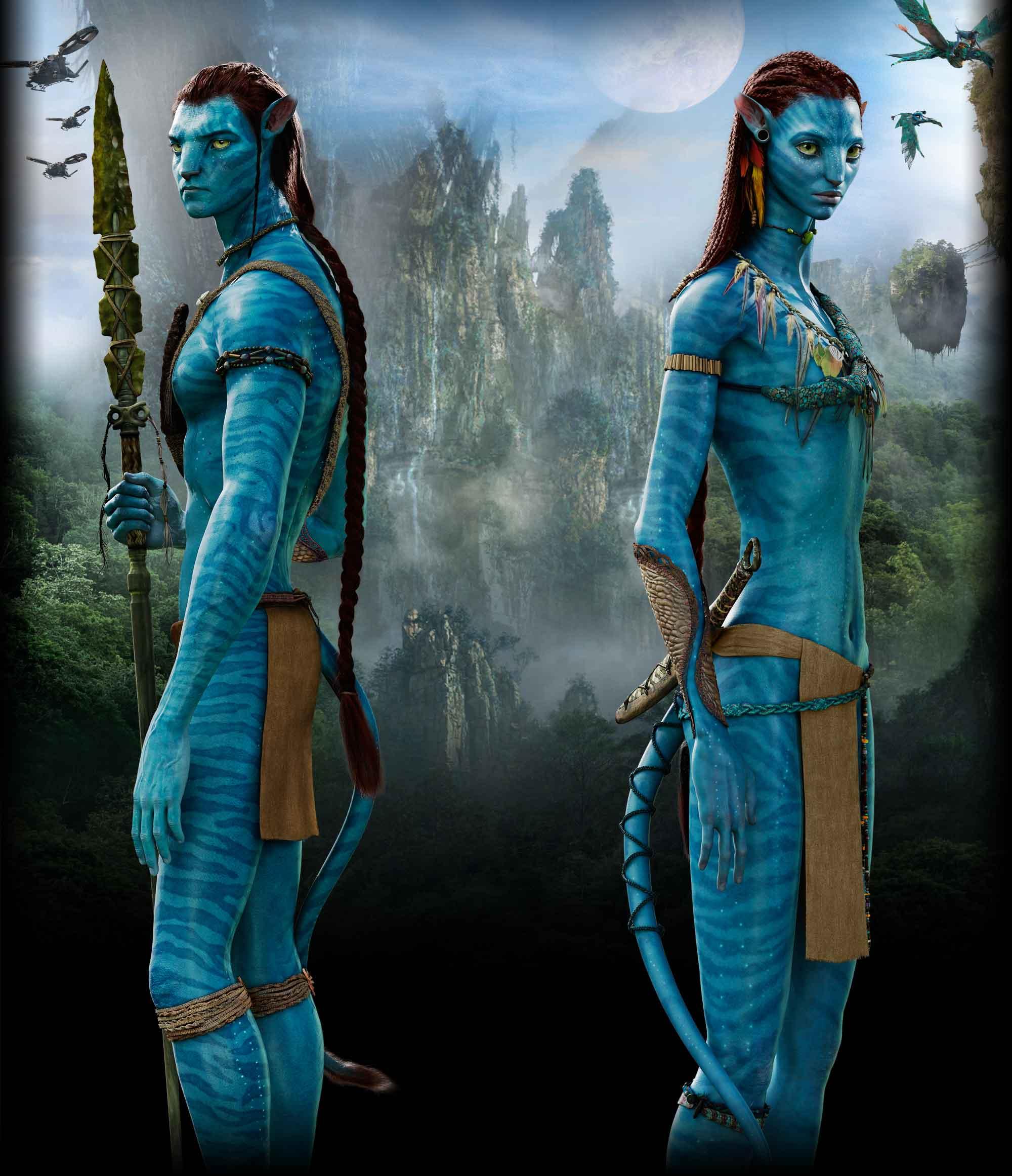 Avatar 4: Image - Jakesully And Neytiri By Dixetia.jpg