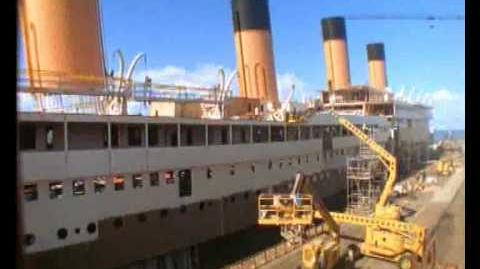 Titanic Movie 1997 Set Ship Construction Time Lapse *AMAZING*