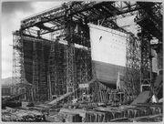 796px-Olympic Titanic Belfast