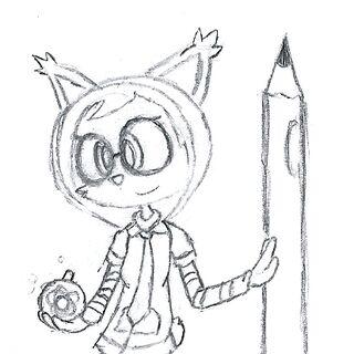 Tina Melonote Sketch