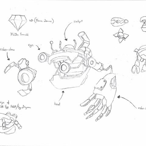 Concepts for Egg Knightmare