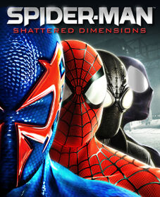 Spider-Man Shattered Dimensions cover-1-