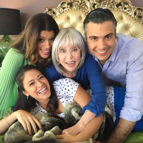 with Rita Moreno