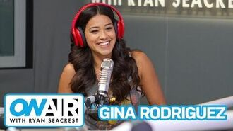 "Gina Rodriguez Talks Lingerie & ""Jane The Virgin"" S.2 On Air with Ryan Seacrest"