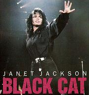 Janet jackson black cat us promo cd single cover