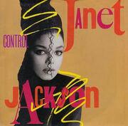 Janet Jackson - Control single cover