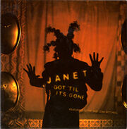 Janet Jackson - Got Til Its Gone single cover