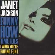 Janet Jackson - Funny How Times Flies single cover