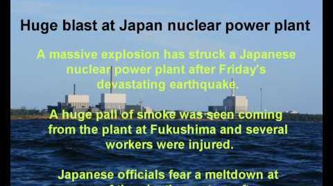 Huge blast at Japan nuclear plant after earthquake