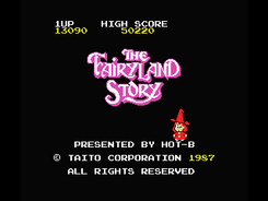 The Fairyland Story - Msx (1)
