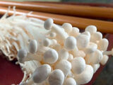 Enoki mushrooms