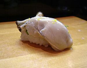 Kaki sushi