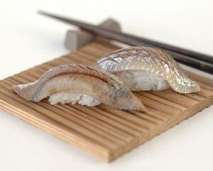 Iwashi sushi