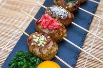 Tsukune meatballs