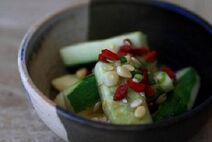 Spicy cucumbers 2