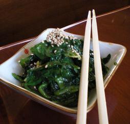Yuko-maki-north-vancouver-gomaae-spinach-salad