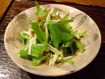 Enoki mshrm salad