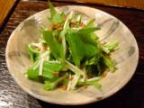 Salad Greens with Enoki Mushrooms by JayMan3