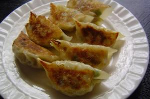 Pan-fried-gyoza