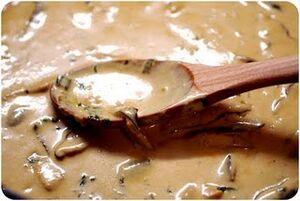 Ginger shiitake sauce