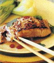 Salmon five spice