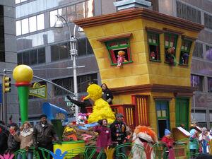 Sesame Street float