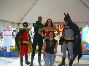 I met the Justice League!