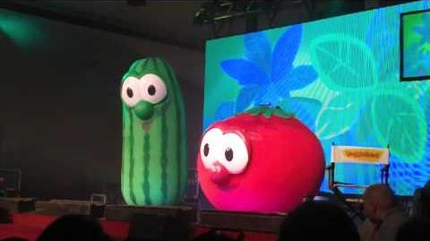"""""""Monkey (Silly Song)"""" Veggie Tales Live at North Parkersburg Baptist Church April 22, 2013"""