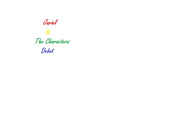 File:Jariel & The Chatacters Debut Logo.png