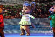 Eleanor on stage!