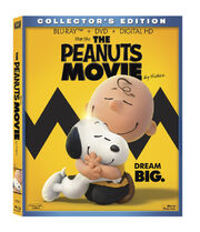 Peanuts Bluray Box Art