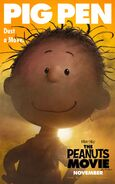 The Peanuts Movie Pig-Pen poster
