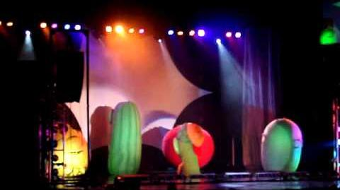 Veggietales Theme´s Show at live Sugarland TX. 25.SEPT