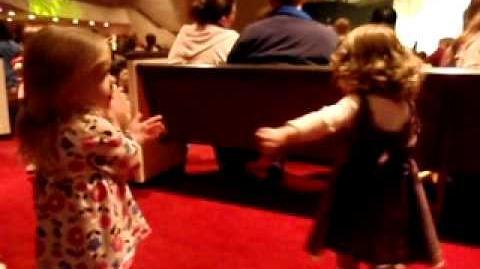 (November 12) Talen & Kaitlyn Bustin' a Move at VeggieTales LIVE