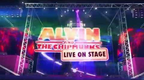 Alvin and the Chipmunks - Live on Stage! Trailer