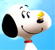 Snoopy Woodstock Screencaps ThePeanutsMovie2015