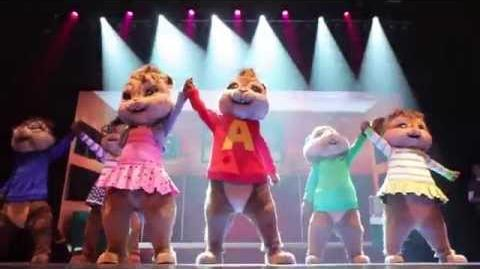 Alvin and the Chipmunks Live on Stage PREVIEW!