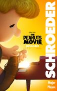 The Peanuts Movie Schroeder poster