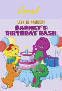 Image Jariel Live In Concert Barneys Birthday Bashpng - Barney live in concert birthday