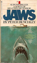Jaws paperback cover