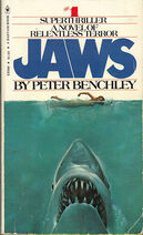Jaws novel 1st edition cover